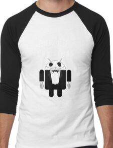 The Android Before Christmas  Men's Baseball ¾ T-Shirt