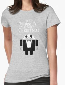 The Android Before Christmas  Womens Fitted T-Shirt