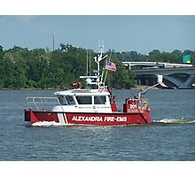 Alexandria Fire EMS Photographic Print