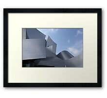 walt disney building in los angeles Framed Print