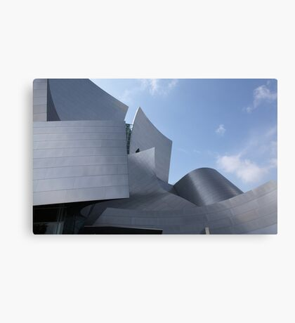 walt disney building in los angeles Canvas Print