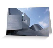 walt disney building in los angeles Greeting Card