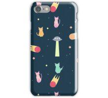 Alien Cat Pattern iPhone Case/Skin