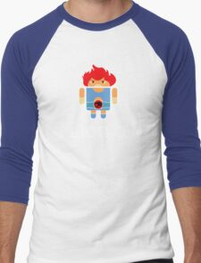 Droidarmy: Thunderdroid Lion-o Men's Baseball ¾ T-Shirt