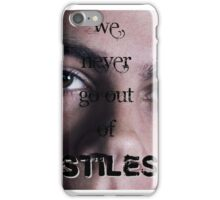 Out of Stiles iPhone Case/Skin
