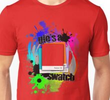 """""""Gie's a Swatch"""" – Red Unisex T-Shirt"""