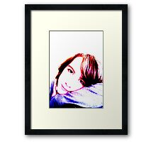 Self-portrait pop art Framed Print