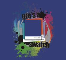 """Gie's a Swatch"" – Blue by Alisdair Binning"
