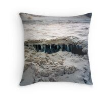 Under the Winter Sand Throw Pillow