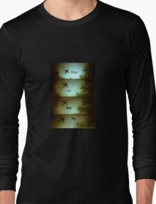 No Fear Lomo Plane Long Sleeve T-Shirt