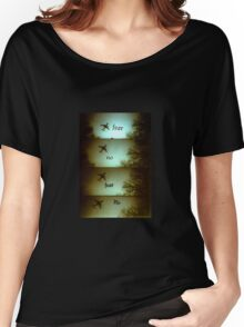 No Fear Lomo Plane Women's Relaxed Fit T-Shirt