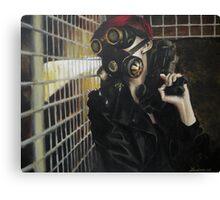 Post Apocalypse Punk Canvas Print