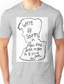 Matt Smith Silhouette Doctor Who Quote Unisex T-Shirt
