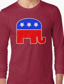 Republican Party Logo Long Sleeve T-Shirt