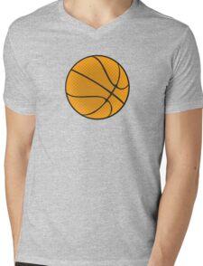 Basketball Vector Mens V-Neck T-Shirt