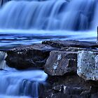 Baily Falls At Night by Chris Ferrell