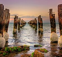 Old Jetty - Clifton Springs by Hans Kawitzki