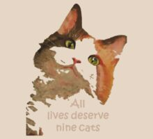 All Lives Deserve Nine Cats by taiche