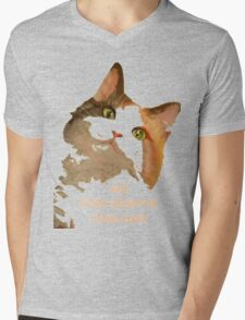 All Lives Deserve Nine Cats Mens V-Neck T-Shirt