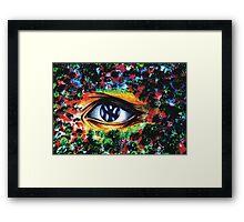 A Yankee Eye Framed Print