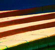 Stairs & Stripes by Lenore Senior