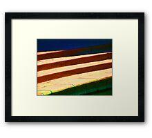 Stairs & Stripes Framed Print