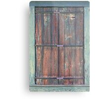 Eldora Old Wood Metal Print