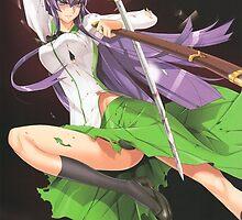 saeko busujima II, from highschool of the dead by waj2000