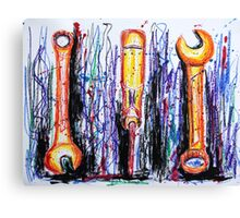 Color Outside the Toolbox Canvas Print