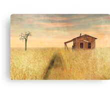 That train don't stop here anymore Canvas Print