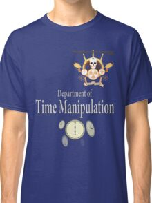 Academy of Mad Sciences - Dept. of Time Manipulation Classic T-Shirt