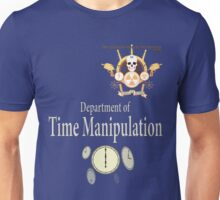 Academy of Mad Sciences - Dept. of Time Manipulation Unisex T-Shirt