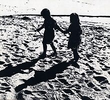 Beach Kids by David Kessler
