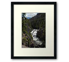 Water Fall Framed Print