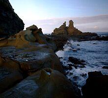 Crashing waves by Josh Nicol
