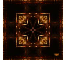 Night Streets and Fireflys Photographic Print