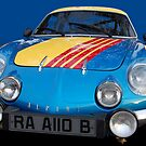 Alpine A110 B by Bill Dutting