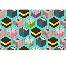 Cubes of goodies Photographic Print
