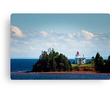 Blockhouse Point Lighthouse, Prince Edward Island Canvas Print