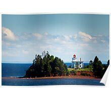 Blockhouse Point Lighthouse, Prince Edward Island Poster