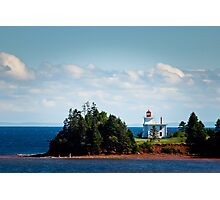 Blockhouse Point Lighthouse, Prince Edward Island Photographic Print