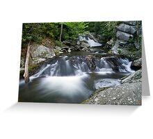 Lynn Camp Prong Cascades Greeting Card