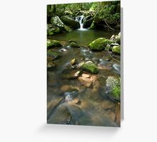 Great Smoky Mountains National Park Waters Greeting Card