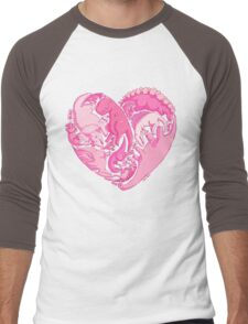 Loveasaurus Men's Baseball ¾ T-Shirt