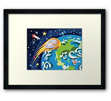 Earth Planet 2 Framed Print