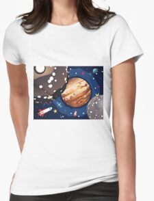Jupiter Planet 2 Womens Fitted T-Shirt