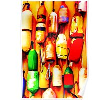 Abstract Buoys 2 Poster