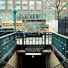 2nd Ave Subway Entrance by Steve Edwards
