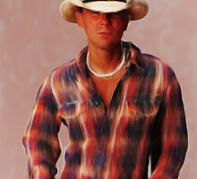 Kenny Chesney by John Thompson