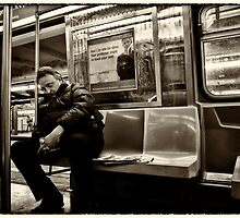 Wake up Sleepyhead, It's Your Stop by Peter Tachauer